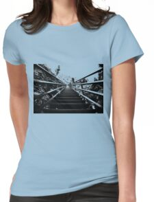 Stair Stepper Womens Fitted T-Shirt