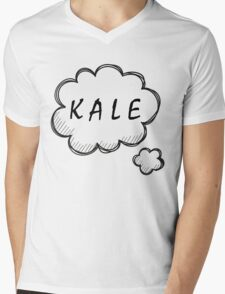 Thinking about Kale Mens V-Neck T-Shirt