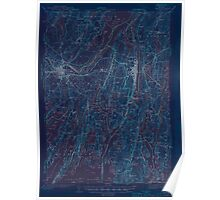 Maine USGS Historical Map Bath 306459 1945 62500 Inversion Poster
