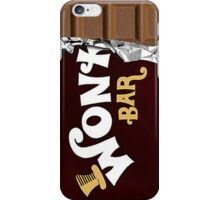 Wonka Bar Chocolate Gold Ticket Candy Sweets iPhone Case/Skin