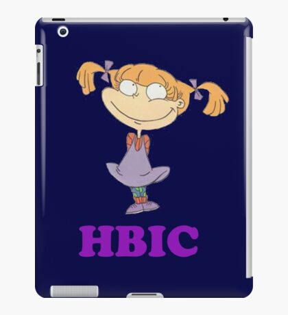 HBIC Angelica iPad Case/Skin