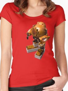 Robomang Women's Fitted Scoop T-Shirt