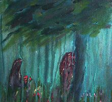 Two in the Rain by Lesli Hills