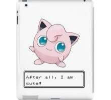 Pokemon Jigglypuff Cute iPad Case/Skin