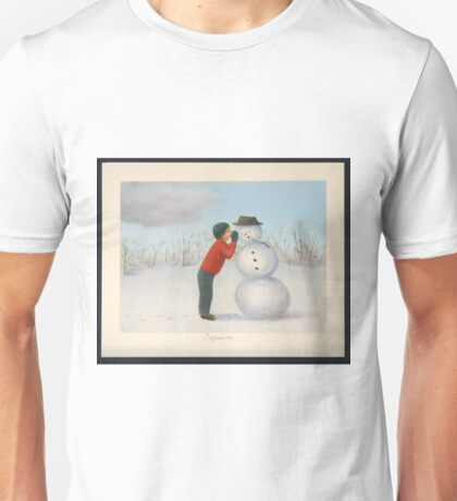 Confession to the snowman Unisex T-Shirt