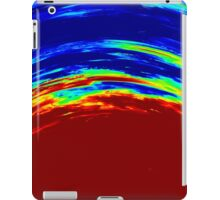 Colorful Abstract Painting Original Art Titled: Ruby Red iPad Case/Skin