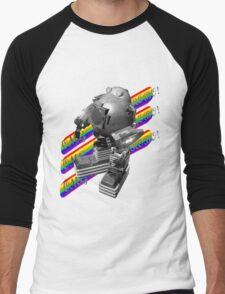 OMG ROBO Men's Baseball ¾ T-Shirt