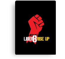 Liber8 Rise Up - Continuum Canvas Print