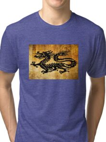 Vintage Dragon Tri-blend T-Shirt
