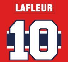 Guy Lafleur #10 - red jersey by ianscott76