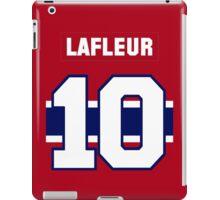 Guy Lafleur #10 - red jersey iPad Case/Skin