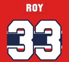 Patrick Roy #33 - red jersey by ianscott76