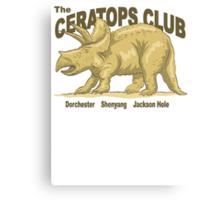 The Ceratops Club Canvas Print
