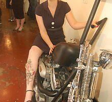 Hot Biker Chick! by TimChuma