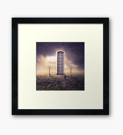 Where the big things are Framed Print