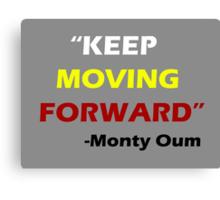"""Keep Moving Forward"" - Monty Oum Canvas Print"