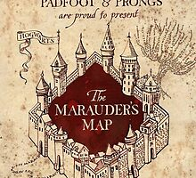 Harry Potter Marauder's Map by GoodCase