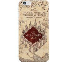 Harry Potter Marauder's Map iPhone Case/Skin