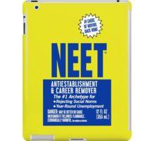 NEET Antiestablishment & Career Remover iPad Case/Skin