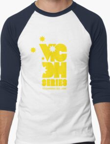 OLD SCHOOL YELLOW Men's Baseball ¾ T-Shirt