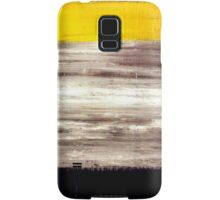 Acrylic Abstract Painting Original Art on Canvas Titled: Double Time Samsung Galaxy Case/Skin
