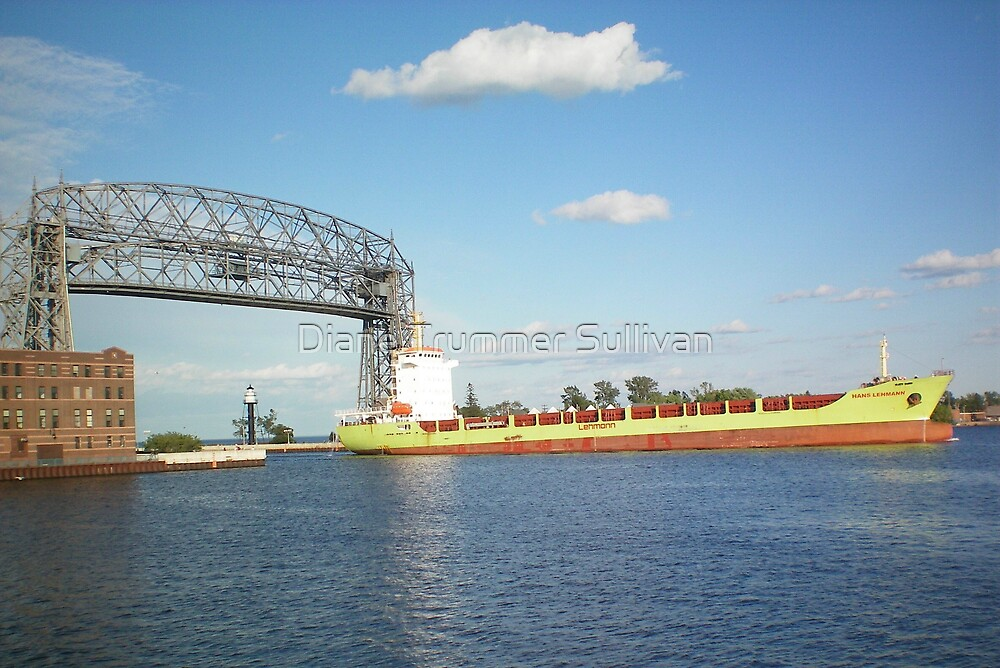 Hank Lehman Ocean Liner  ~ Duluth by Diane Trummer Sullivan