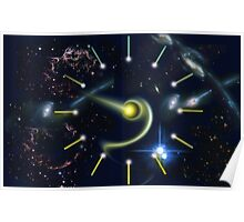 The Galactic Clock  Poster
