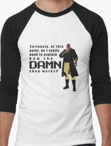 Do I really have to explain how the DAMN shop works? Men's Baseball ¾ T-Shirt