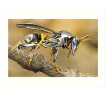 """Waspinator""....attack of the clones Art Print"