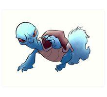 Starter Pokemon: Squirtle Art Print