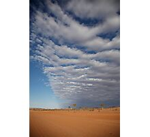 weather front Photographic Print