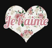 Je t'aime by designbymike