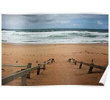St Paul's beach,Mornington Pennisula,Victoria Poster