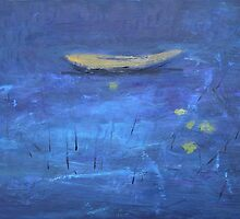 Prelude to a Boat on Blue Water by RoyAllen Hunt