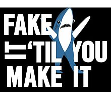 Left Shark: Fake It 'Til You Make It Photographic Print