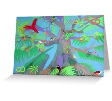 Eight Branches Over Ocho Rios Greeting Card
