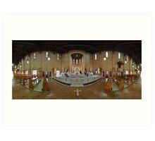 St. Brigid's Church, Brisbane. Art Print