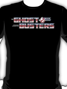 TF Ghostbusters (Ready 2 Believe) Blk ver.3 T-Shirt