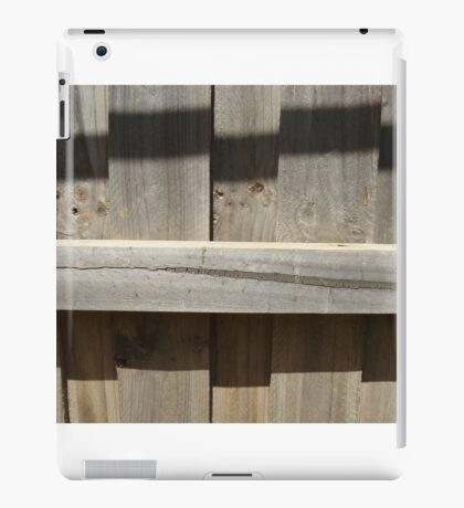 Fence Shadows iPad Case/Skin