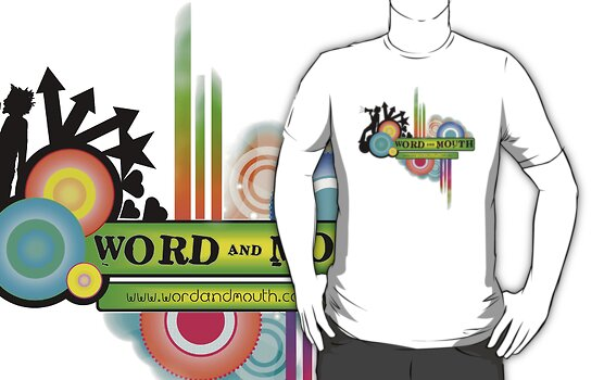 Word and Mouth Logo colour explosion by mattylp