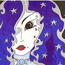 Selene, Goddess of the Moon by gypsycaster