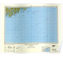 Maine USGS Historical Map Bath 707213 1948 250000 Poster