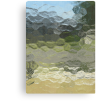 Marbled Landscape Canvas Print