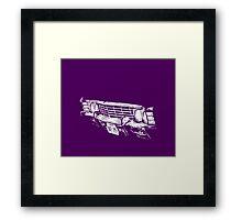 Impala Grille Framed Print