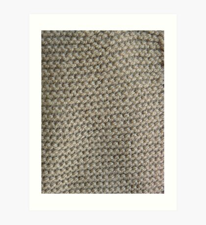Knit One Art Print