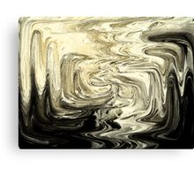 Abstract: melted cheese Canvas Print