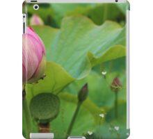 Lotus bud. iPad Case/Skin