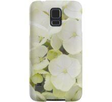 White Hydrangea Samsung Galaxy Case/Skin