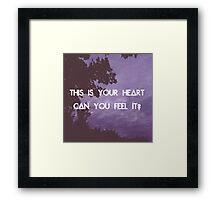 Laura Palmer - Bastille Framed Print