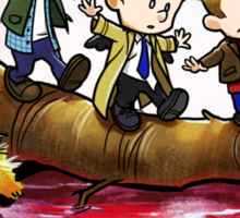 Team Free Will Goes Exploring Sticker